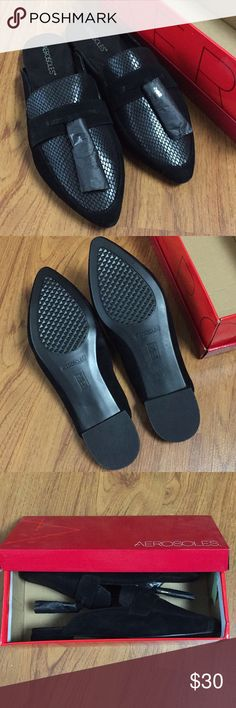 bd88d2d3f9d NIB Aerosoles Best Girl Suede Loafers NIB as pictured. Never worn. Giftable AEROSOLES  Shoes