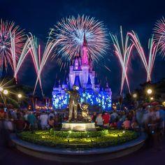 Disney Fireworks, Ferris Wheel, Fair Grounds, Travel, Birthday Ideas, Magazine, Viajes, Destinations, Magazines
