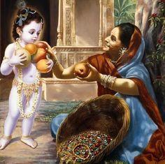 Удивительный Кришна