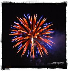 Love laying on a blanket watching fireworks with my three guys.