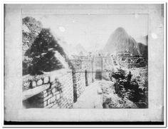 Vista. Cuzco. Macchu Picchu, Fotografia de Eugenio Courret - Biblioteca Nacional del Perú