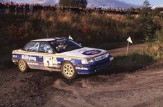 Colin McRae Subaru Legacy gr.A | WRC Rally School @ http://www.globalracingschools.com