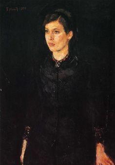 Edvard Munch, Sister Inger, 1884.