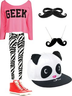 """""""mustaches are cool"""" by jessica-krauss ❤ liked on Polyvore"""