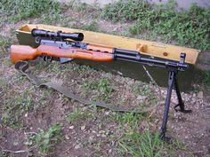 SKS sniper rifle