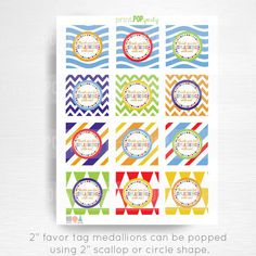 Beach Ball First Birthday Party Printable Stickers Cupcake Toppers Medallions YOU Print Instant Down Beach Ball Birthday, Ball Birthday Parties, Dog Birthday, Digital Invitations, Printable Invitations, Party Printables, Boy Party Favors, Printable Stickers, Favor Tags