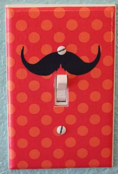 Image Detail for - 66. Mustache Light Switch Cover by julietew (Etsy), $5.