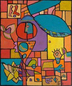 Vibrant Urban Tribal Abstract (Painting No. Abstract Art Painting, Abstract Painting, Painting, Art, Colorful Abstract Art, Abstract, Canvas Painting, Urban Tribal, Canvas Paintings For Sale