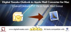 Digital Tweaks Apple Mail Import Tool is an Outlook email conversion tool that helps you convert all the data in your mailbox in the most systematic way.