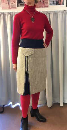 To gamle nederdele får nyt liv med Annie's spændende design.