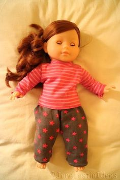 Before Christmas a friend asked me if I could sew some clothes for the new doll of her daughter, as she found the clothes you can buy for t...