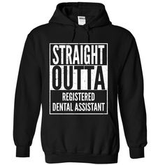 Registered Dental Assistant T-Shirts, Hoodies. VIEW DETAIL ==► https://www.sunfrog.com/LifeStyle/Registered-Dental-Assistant-8836-Black-Hoodie.html?id=41382