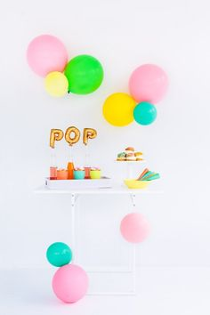 Love this idea for a baby shower dessert table!