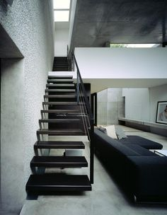 Staircase at Mejiro House by MDS