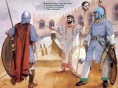Byzantine army, VII Century AD.