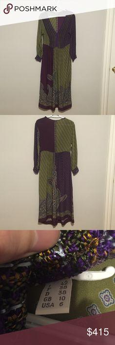 Alberta Ferretti Dress Size 6 Super cute lightweight and comfy! Like new! Alberta Ferretti Dresses Maxi