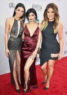 Hair Color - Teal Tint. Kylie Jenner AMAs 11/23/14