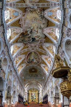 Freising Cathedtal, also called Saint Mary and Corbinian Cathedral, Bavaria