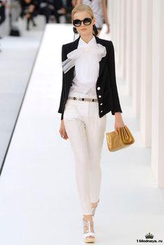 Элегантный стиль Коко Шанель в одежде. Фото модных образов   1Modnaya.ru