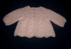 Baby Ripple Sweater & Hat free crochet pattern