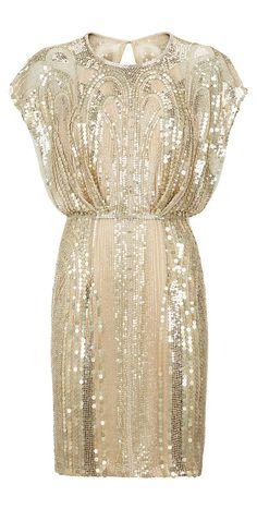 Sequined Dress / Jenny Packham