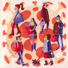 Illustration by Hilda © Groenesteyn / studio Hille ©2020 Photo And Video, Studio, Illustration, Instagram, Studios, Illustrations