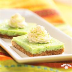 Almond Key Lime Bars from Eagle Brand®