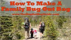 What to pack in your Family Bug Out Bag for infants, toddlers, children, & teens. Plus how to tweak your plan to safely travel with kids in these age groups