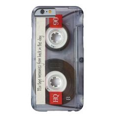 Cool iPhone 6 cases roundup on coolmomtech.com:  Zazzle cassette tape iPhone 6 case