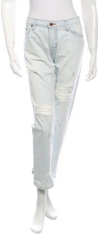 NSF Striped Jeans w/ Tags Striped Jeans, Zip, Tags, Denim, Stylish, Blue, Women, Fashion, Moda