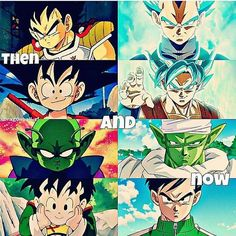 They grow up so fast but Wat the fuck happen to Gohan tho - Visit now for 3D Dragon Ball Z shirts now on sale!