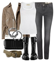 """""""Derek Inspired AllSaints Outfit"""" by veterization ❤ liked on Polyvore featuring moda ve AllSaints"""