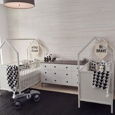 Double crib nursery