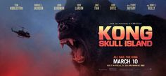 Kong: Skull Island is a 2017 American monster film directed by Jordan Vogt-Roberts and written by Dan Gilroy, Max Borenstein and Derek Connolly, from a story by John Gatins. The film is a reboot of the King Kong franchise and serves as the second film in Legendary's MonsterVerse.  Hollywood Hindi Dubbed Movies