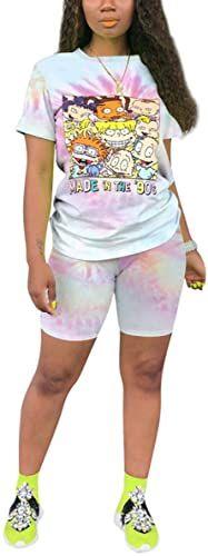 Mens Slim Fit T Shirt Shorts Set Tracksuit Hawaii Khaki Grey Fitted