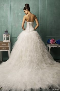 AmeliaSposa 2014 Wedding Dresses #wedding #weddingdream123 #gown #weddingdress #dress