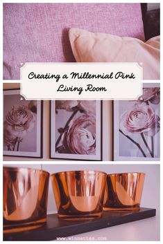 Millennial pink decor is hot at the moment. These blush pink tones are the perfect compliment for any interior. Read about how I added Millennial pink to create a warm and inviting living room. Pink Interiors at it's best. #millennialpink #millennialpinkdecor #millenialpinkinterior
