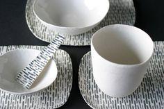 Doris Bank - KERAMIK | PORZELLAN Ceramic Spoons, Ceramic Plates, Dory, Tapas, Arts And Crafts, Pottery, Ceramics, Danish, Sweden