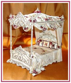 DRESSED BEDS & CANOPIES - SIMPLY SILK MINIATURES