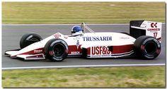 Derek Warwick Arrows Megatron A10 1987 British GP Silverstone by Antsphoto, via Flickr