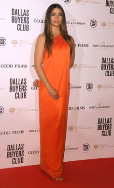 Camilla Alves At The Premiere Of 'Dallas Buyers Club' In Rome, Italy