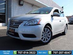 2013 Nissan Sentra SV Silver $13,995 31615 miles 707-514-3622 Transmission: Automatic  #Nissan #Sentra #used #cars #NinoMotors #Vallejo #CA #tapcars