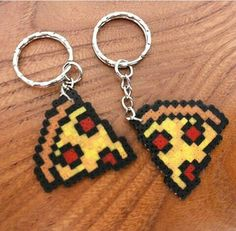 diy Pizza Perler Beads Starting A Furniture Antique Auction Article Body: Imagine every Saturday ope Perler Bead Designs, Hama Beads Design, Diy Perler Beads, Perler Bead Art, Pearler Beads, Melty Bead Patterns, Pearler Bead Patterns, Beading Patterns, Melty Beads Ideas