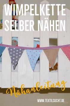 Tutorial: Sew a pennant chain yourself In this short # Nähanleitung I& show you how you, even as an absolute sewing beginner, have Baby Turban, Baby Room Boy, Baby Boys, Simply Knitting, Easy Knitting, Knitting Projects, Knitting Patterns, Sewing Projects, How Do You Knit