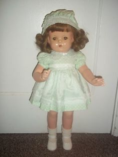 """22"""" Effanbee Patsy Lou Composition Doll - Redressed"""