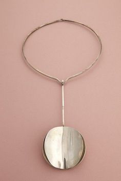 Kaunis Koru, vintage minimalist sterling silver neckpiece,1972. (scheduled via http://www.tailwindapp.com?utm_source=pinterest&utm_medium=twpin&utm_content=post1853071&utm_campaign=scheduler_attribution)