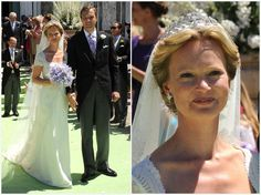 Laurel Wreath Tiara  Dutch Royal house  Princess Carolina's Wedding