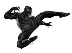 "CAPTAIN AMERICA: CIVIL WAR! …black panther 03 (promo art): ""long live the king!"""