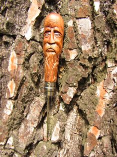Garden Trowel, Garden Tools, Buddha, Sculptures, Statue, Native American Art, Norse Mythology, Carved Wood, Celtic