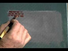 Jerry Yarnell's Beginner Series Volume 4: Basic Objects 3 - YouTube   (Brick wall, rocky foot path)